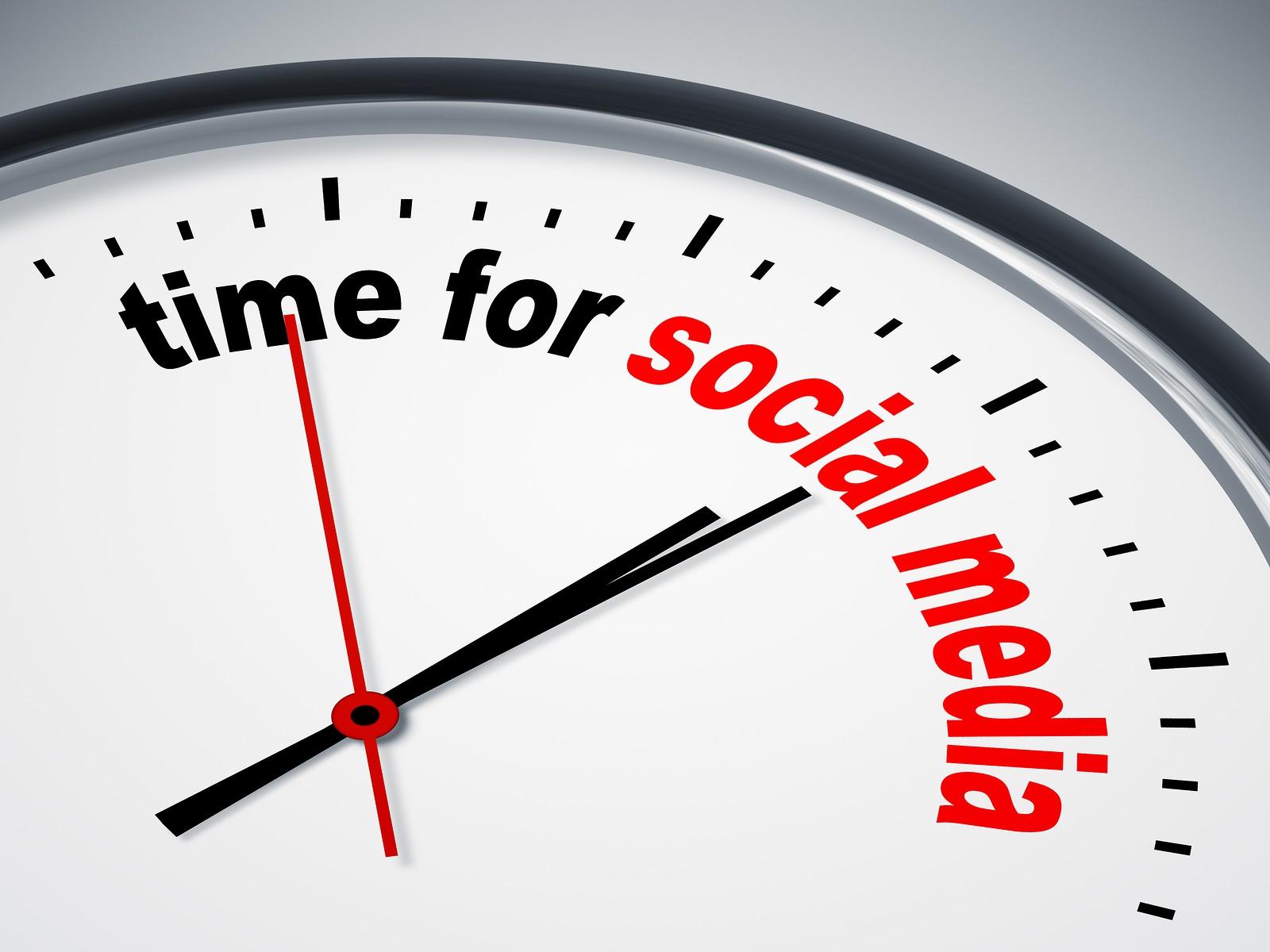 Make Time for Social Media