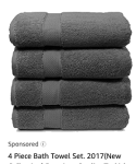 Ad from Amazon - Towels